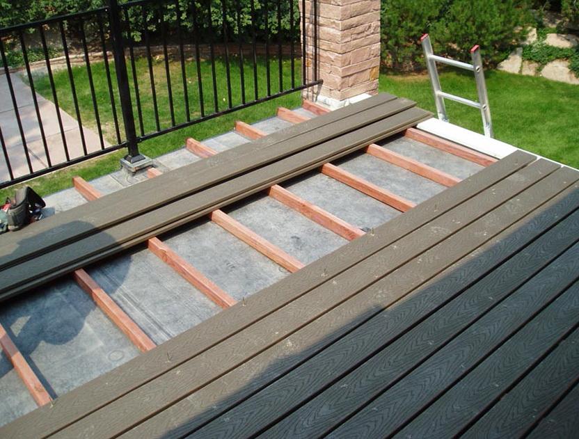 Flat Roof Deck Design