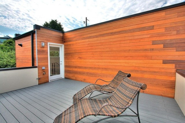 Flat Roof Deck Ideas