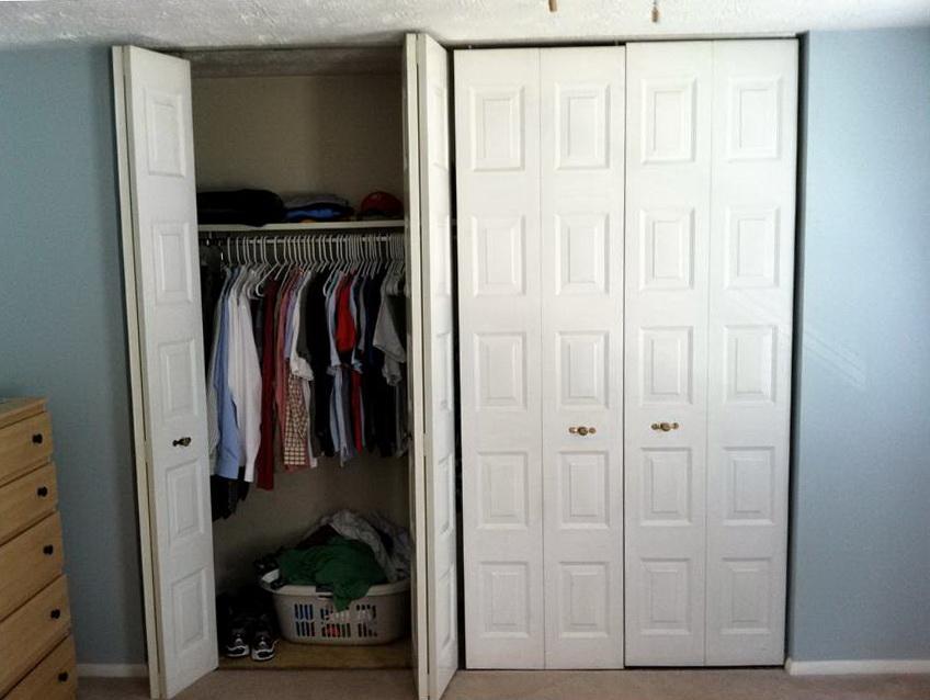 Floor To Ceiling Bi Fold Closet Doors