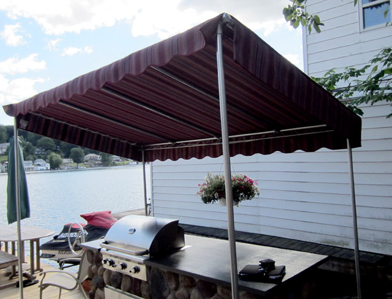 Free Standing Awnings For Decks