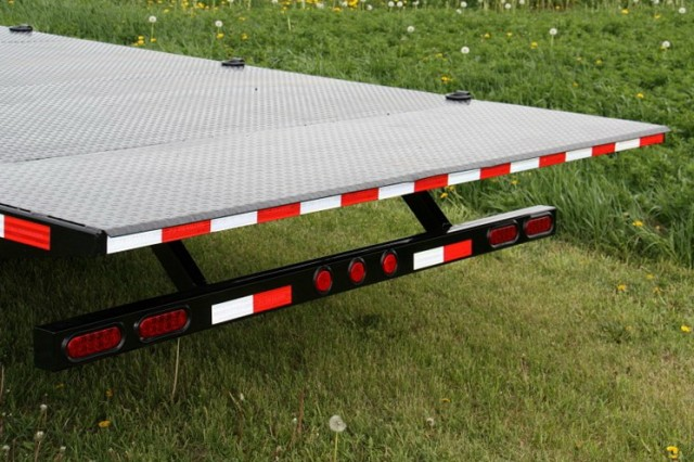 Gooseneck Tilt Deck Trailer
