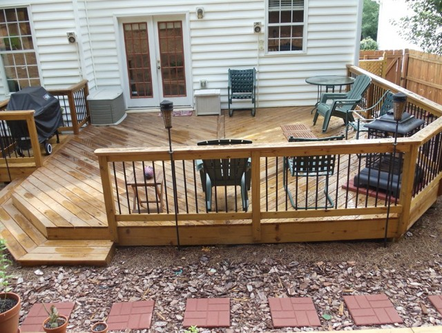 Ground Level Deck Designs