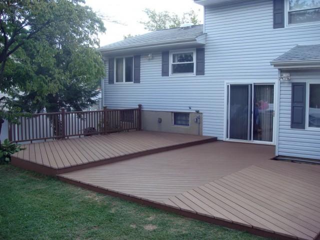 Ground Level Deck Plans