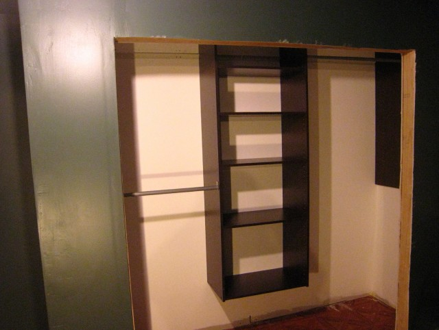 Home Depot Closet Systems Shelving