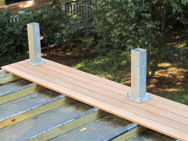 Home Depot Deck Building Materials