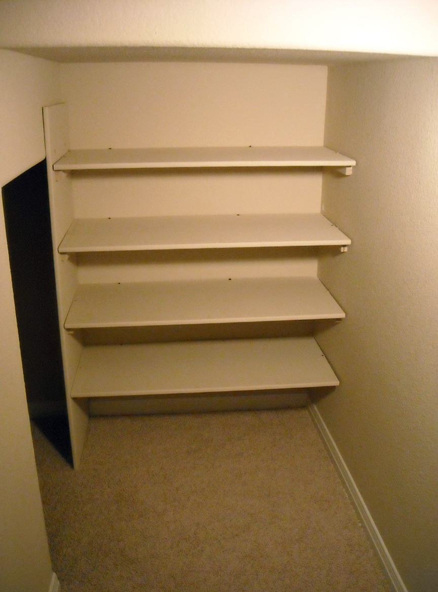 How To Build Built In Shelves In Closet