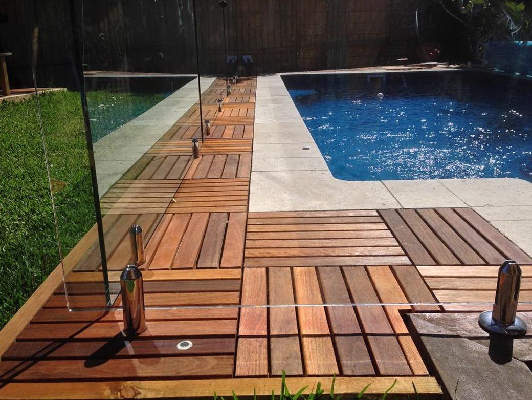 Ikea Deck Tiles On Concrete