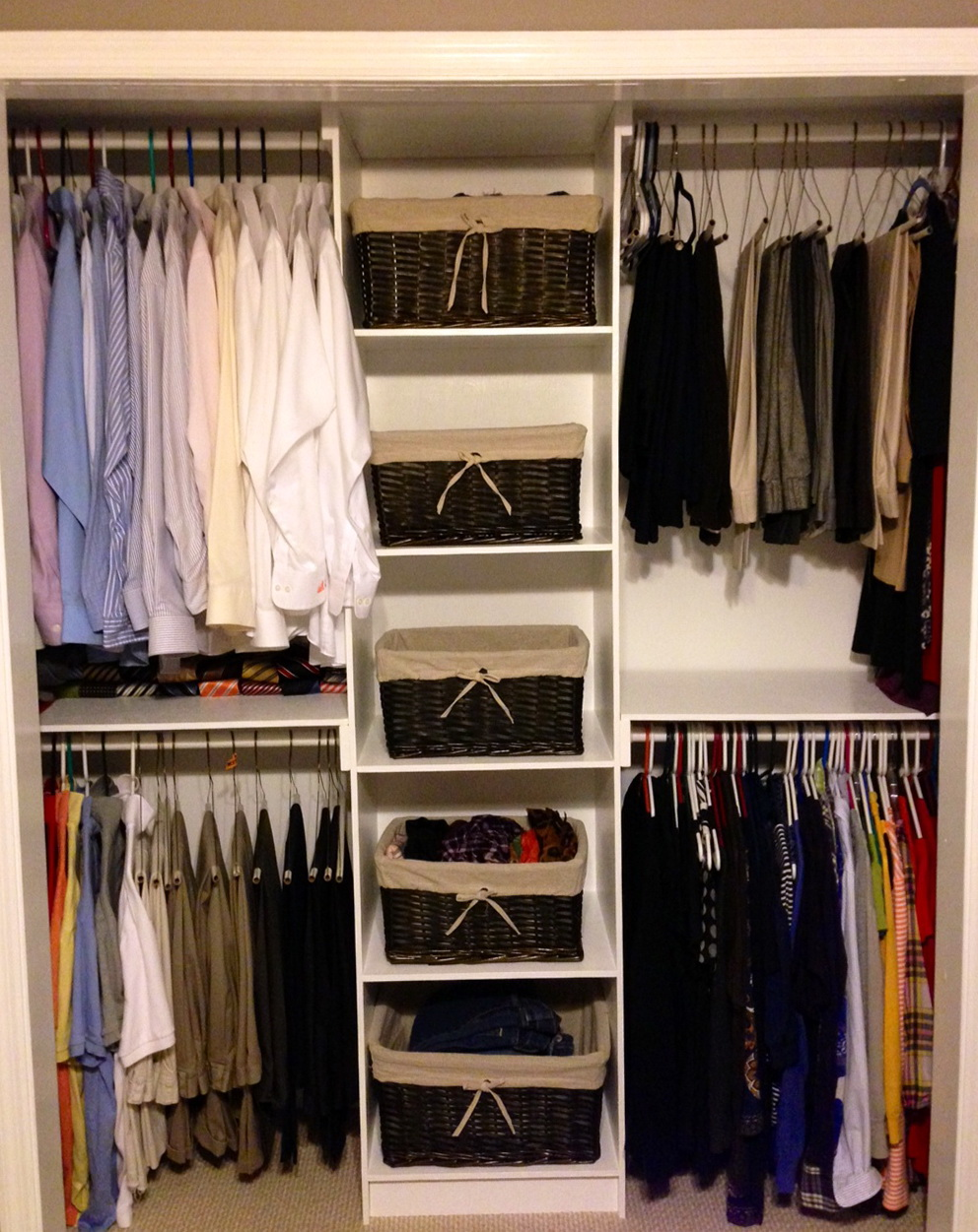 Inexpensive Reach In Closet Organizers