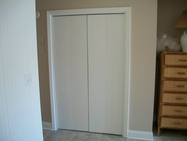 Installing Closet Doors On Tile