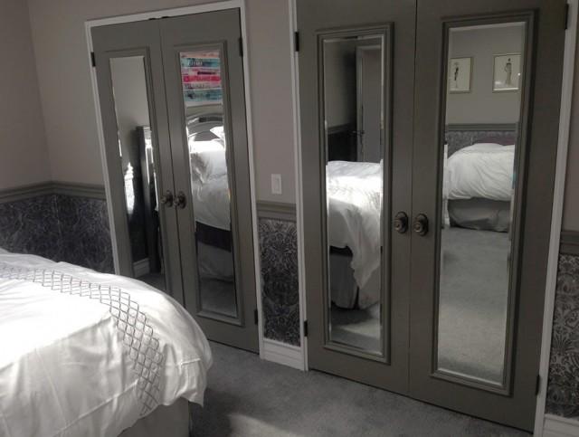 Interior Mirrored Closet Doors