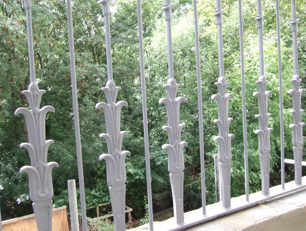 Iron Deck Railing Kits