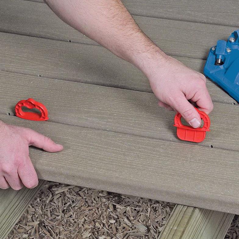 Jigs For Installing Deck Boards
