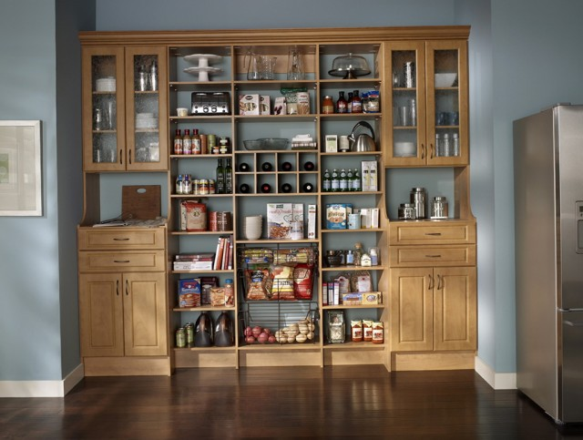Kitchen Pantry Closet Ideas