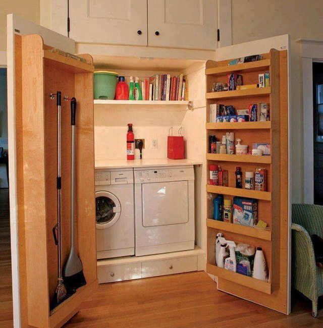 Laundry Room Closet Door Ideas
