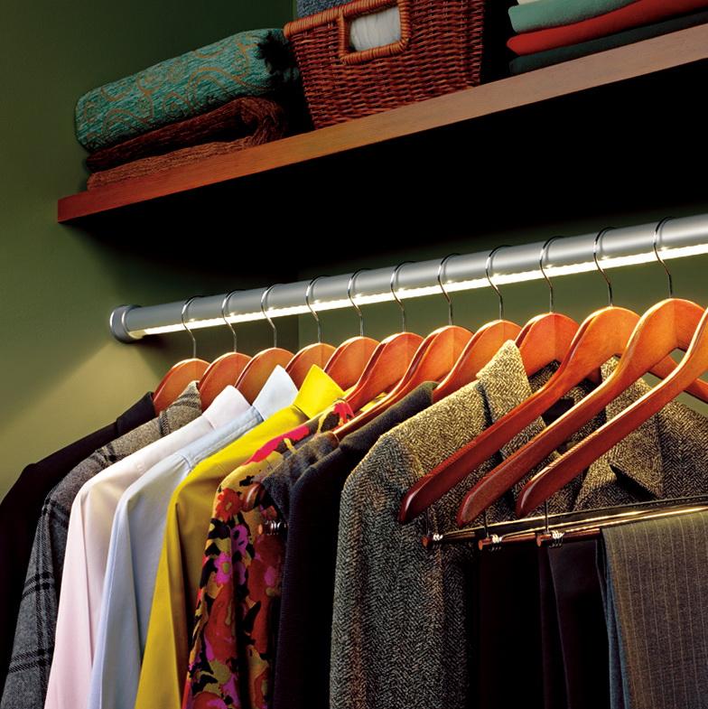 Lighted Closet Rod Hafele