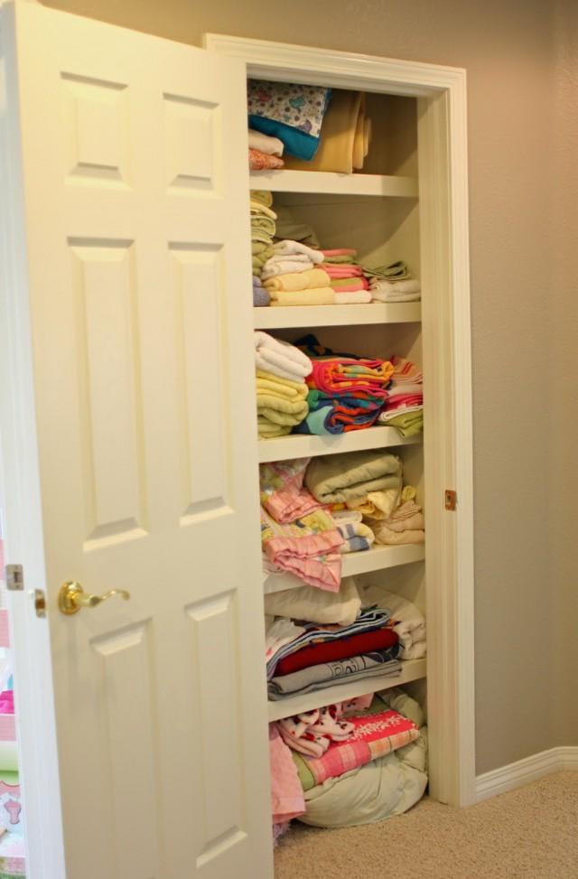 Linen Closet Organization Ideas Pinterest