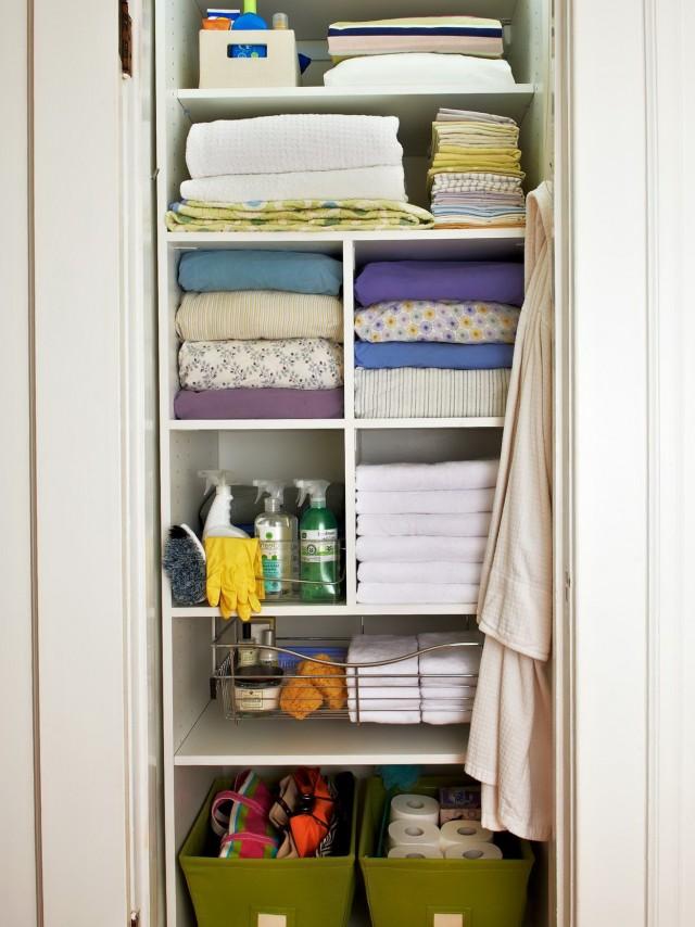 Linen Closet Organizer Ideas