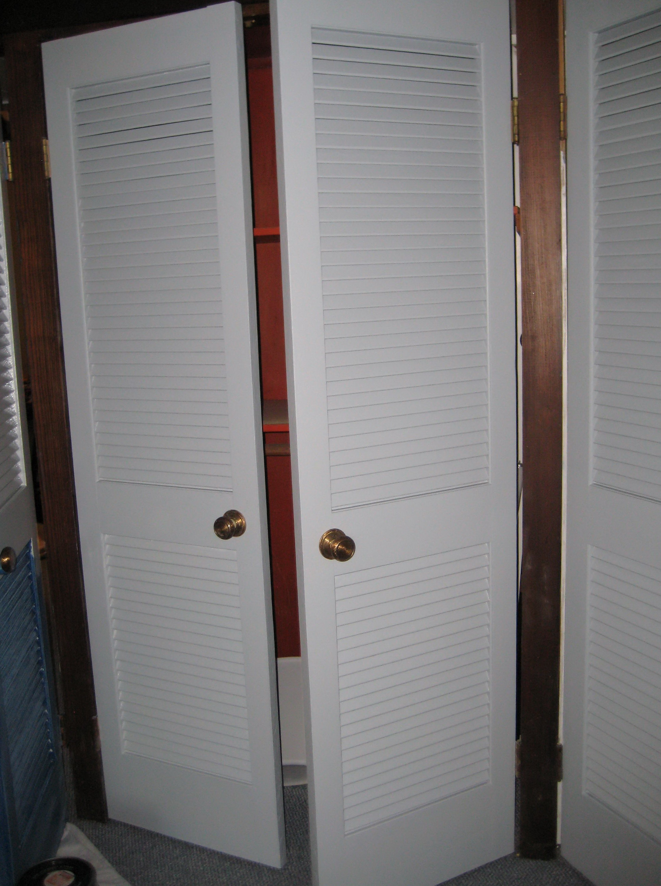 Louvered Sliding Closet Doors Home Depot