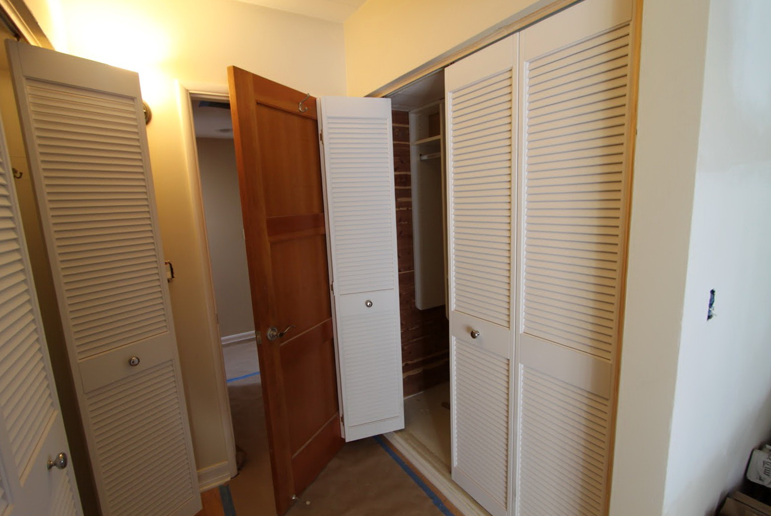 Louvered Sliding Closet Doors Lowes