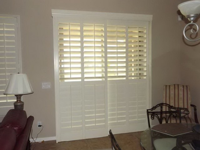 Louvered Sliding Closet Doors White
