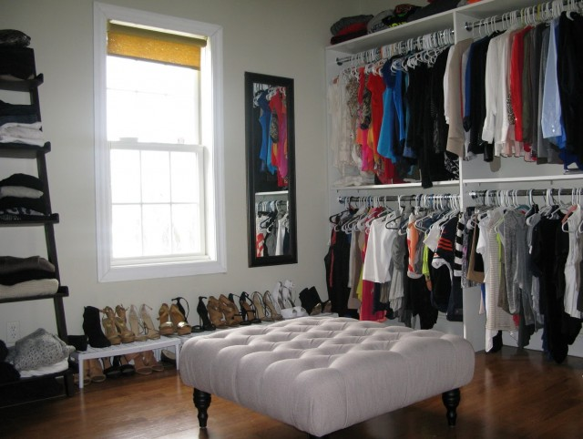 Make A Closet Into A Bedroom