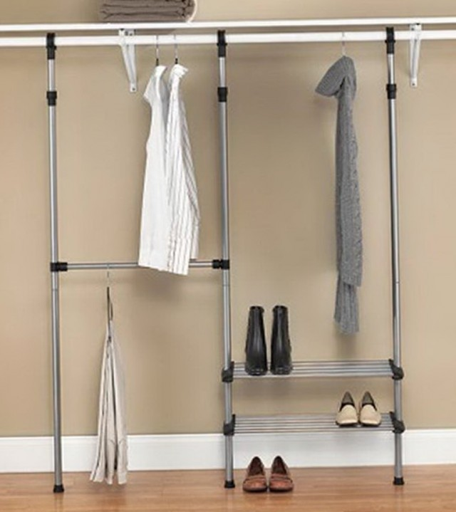 Metal Closet Organizer Kit