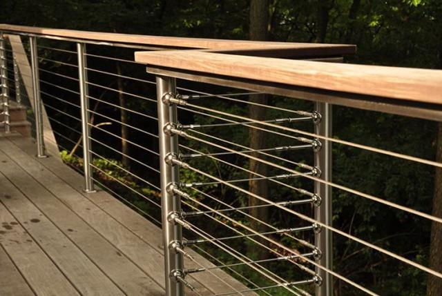 Modular Steel Deck Railing