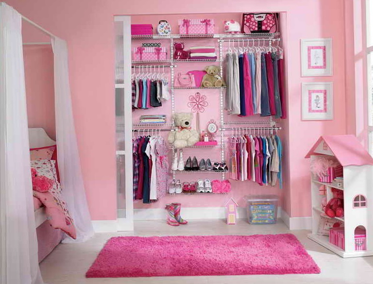 Nursery Closet Organization Ideas