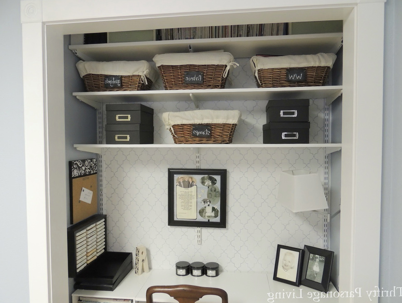 Office In A Closet Pictures
