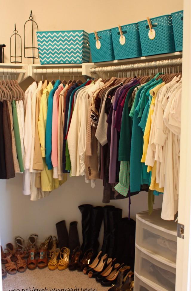 Organize A Small Walk In Closet