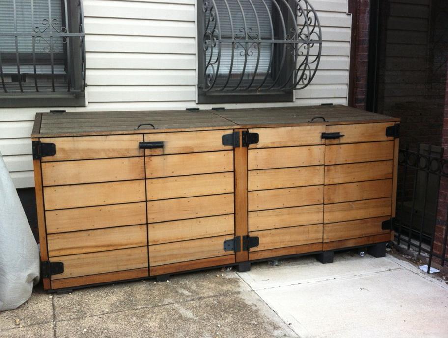 Outdoor Deck Storage Cabinet