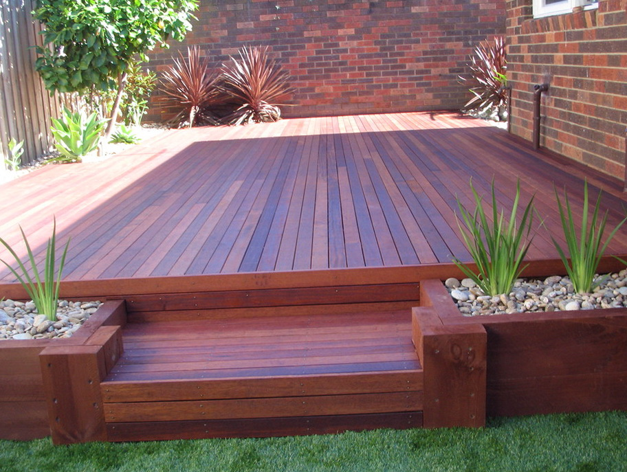 Picture Of Backyard Deck