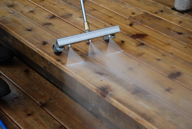 Power Washing Deck Tips