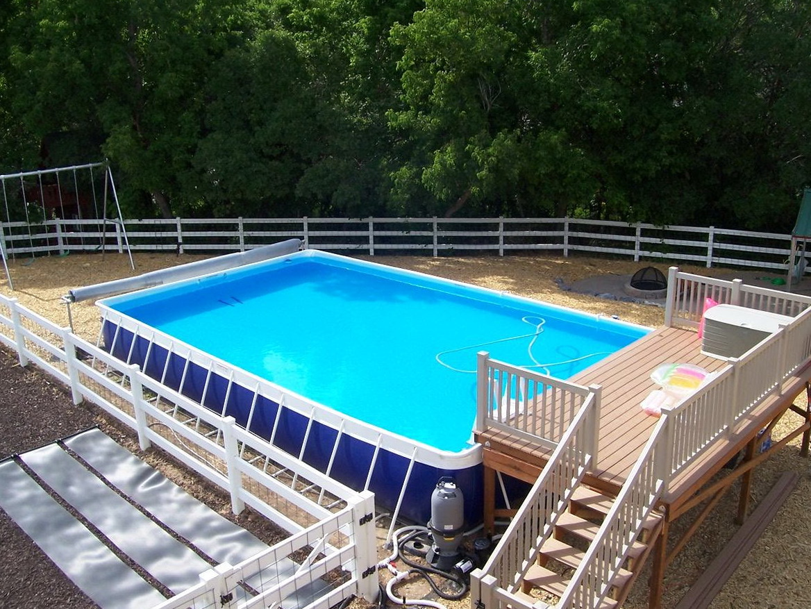 Pre Made Decks For Above Ground Pools