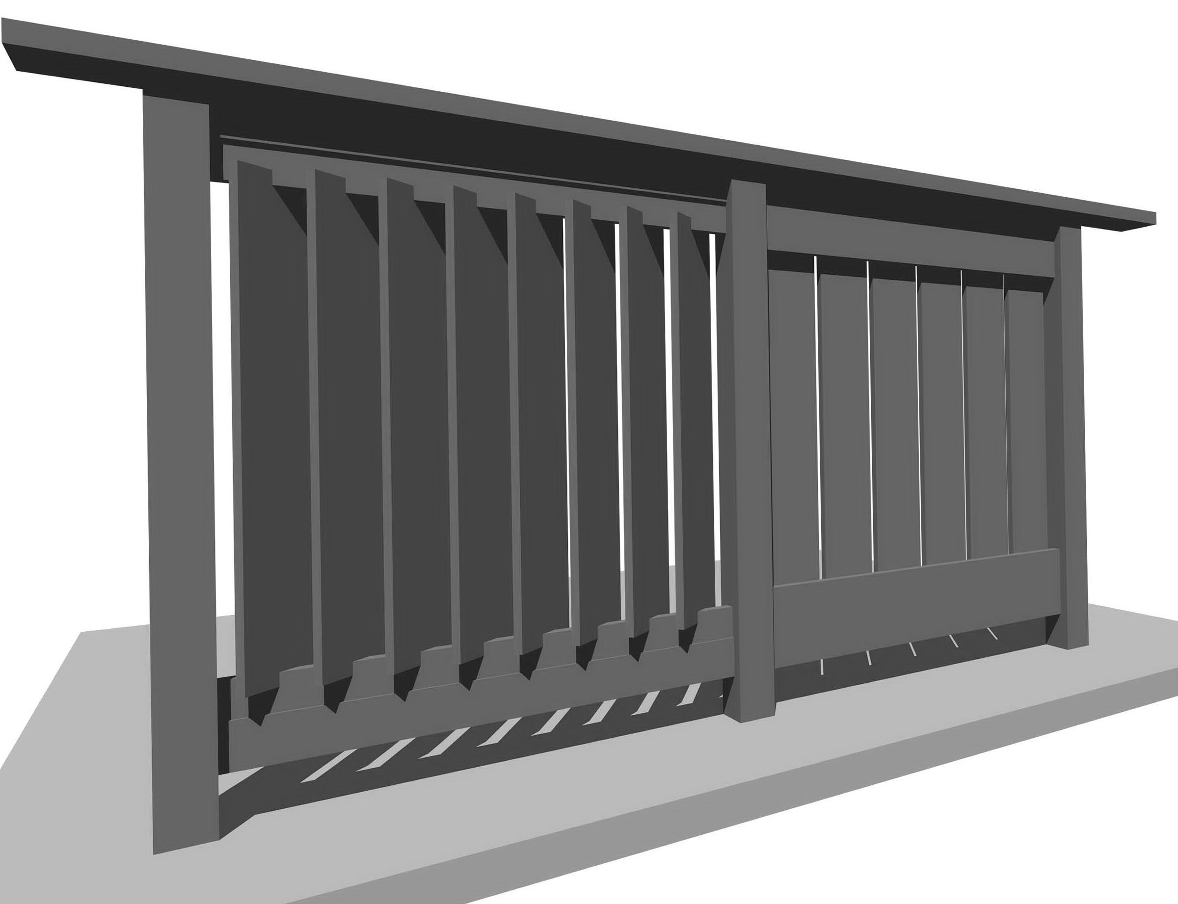 Privacy Deck Railing Designs