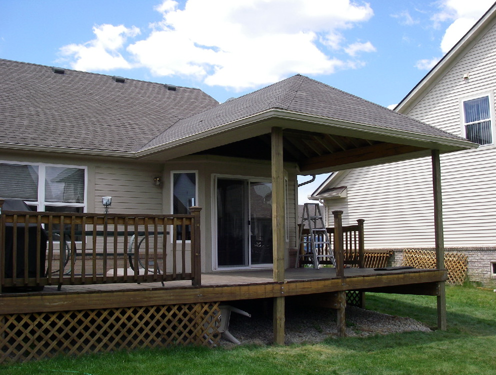 Roof Over Deck Pictures