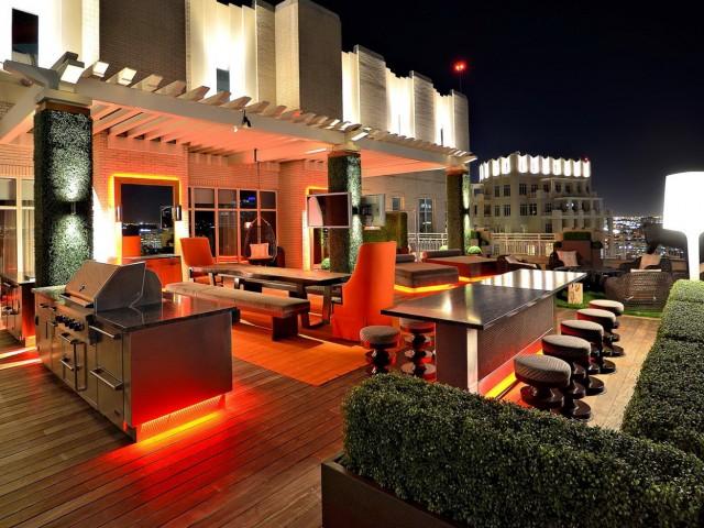 Rooftop Deck Lighting Ideas