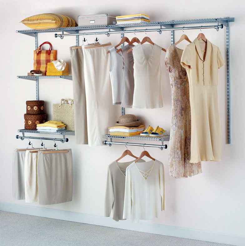 Rubbermaid Closet Shelving Installation