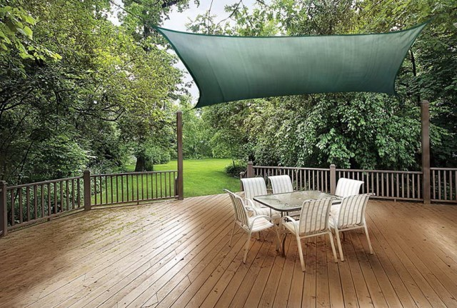 Shade Canopy For Deck