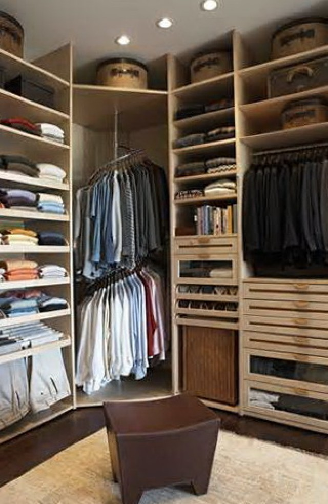 Simple Closet Organizer Designs