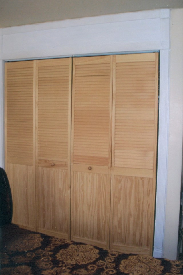 Sliding Closet Doors Louvered