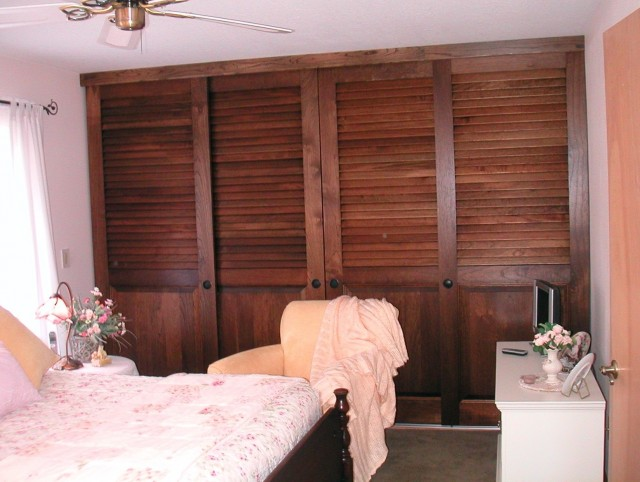 Sliding Louvered Closet Doors