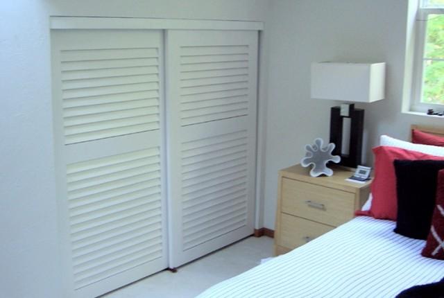 Sliding Shutter Closet Doors