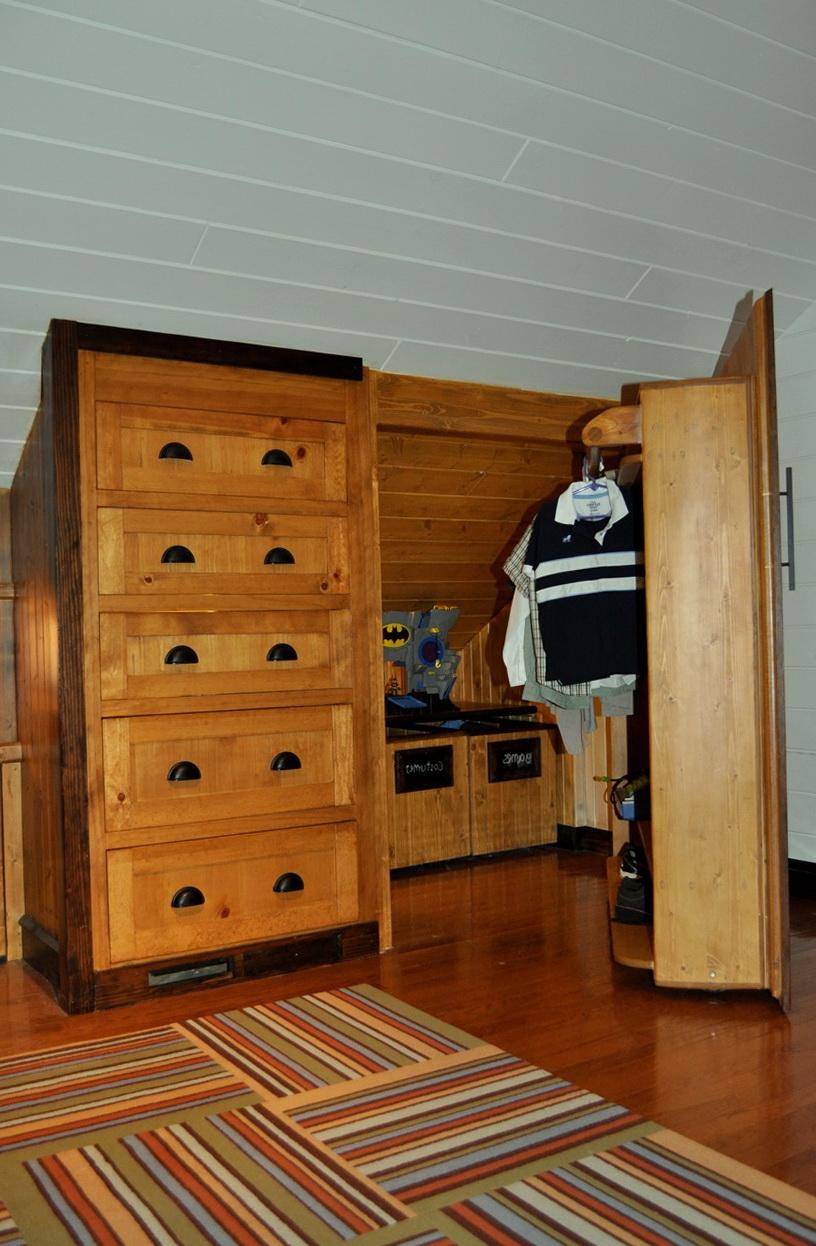 Small Attic Closet Ideas