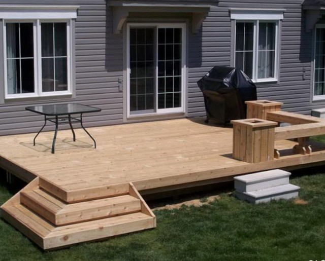 Small Deck Plans Designs