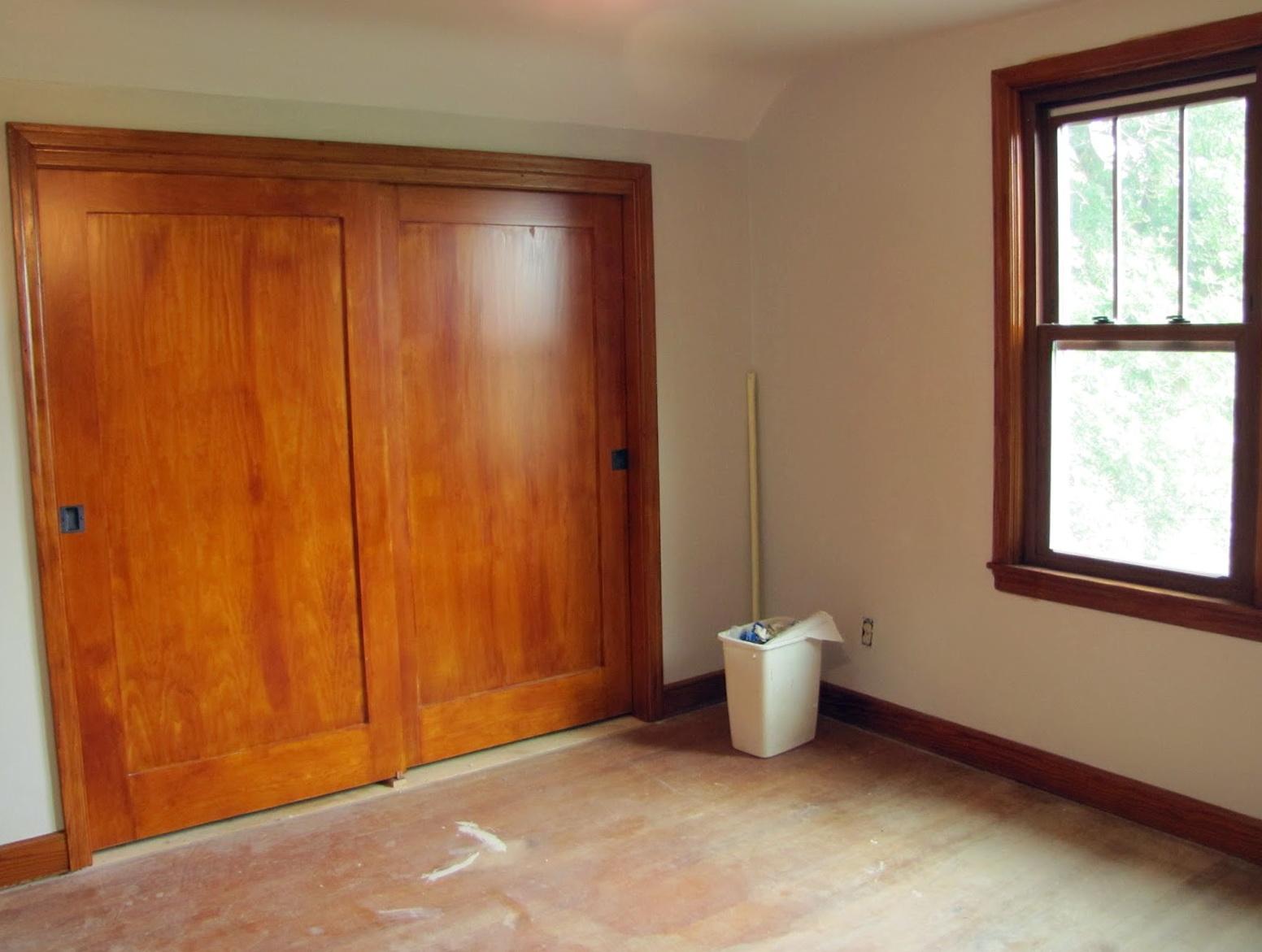 Solid Wood Sliding Closet Doors