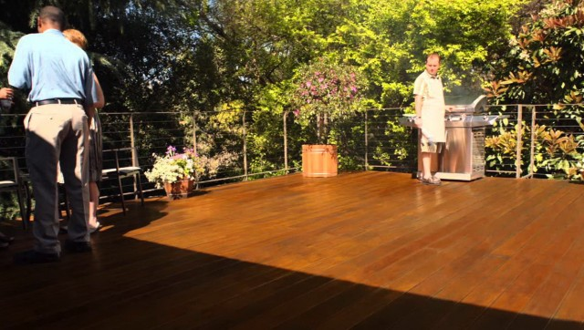 Staining A Deck Youtube