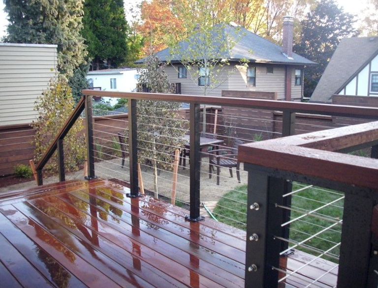 Stainless Steel Wire Deck Railing