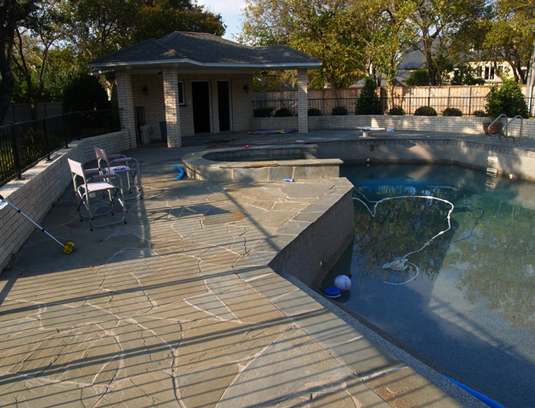 Stone Pool Deck Surfaces