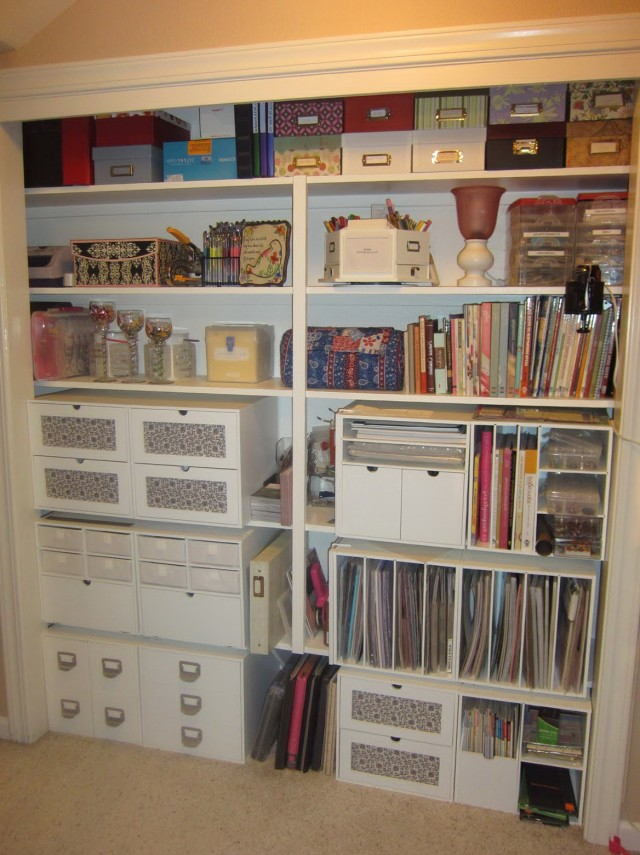 Storage Ideas For Closets Pinterest